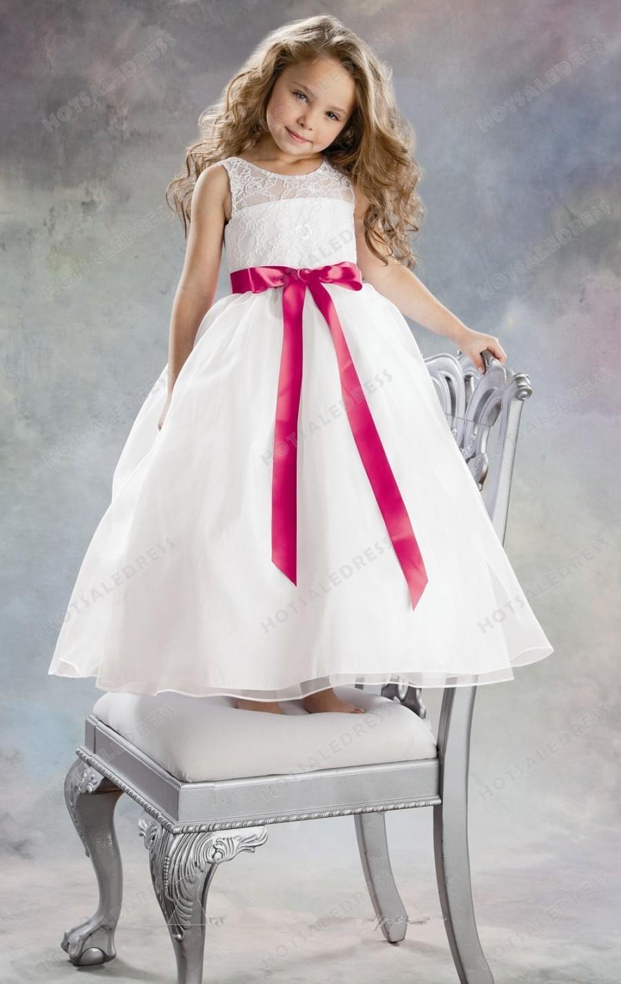 Wedding - Organza Sheer Top Dress By Jordan Sweet Beginnings Collection L389