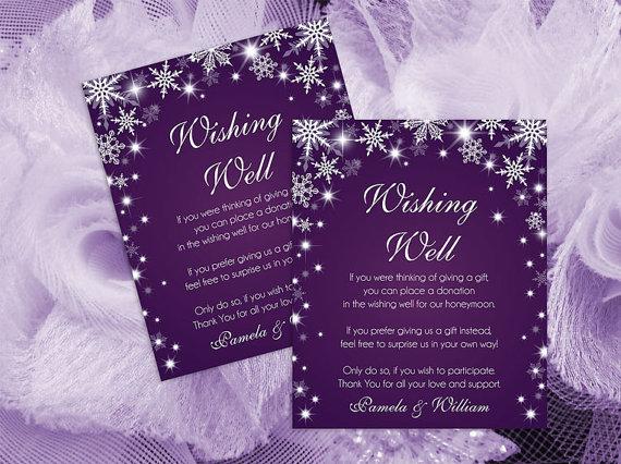 Diy Printable Wedding Wishing Well Template 2364269 Weddbook
