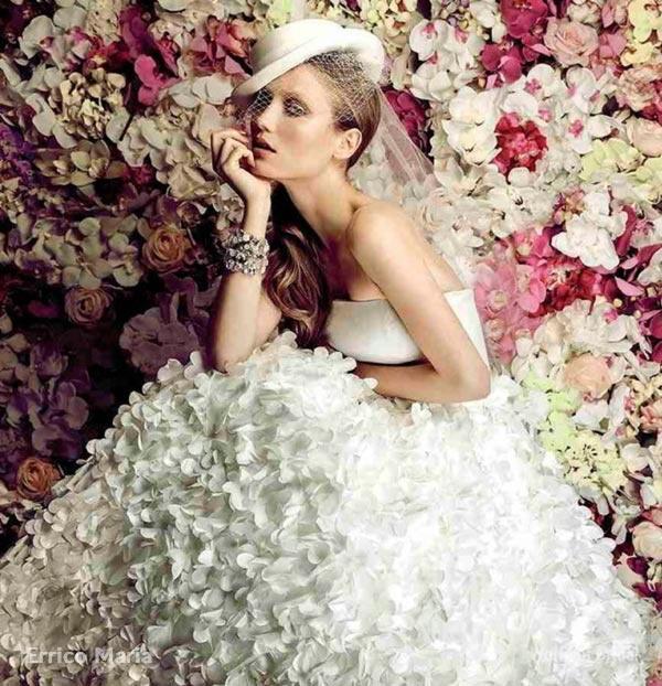 Hochzeit - Fleurs D'Antan : Errico Maria 2015 Wedding Dresses