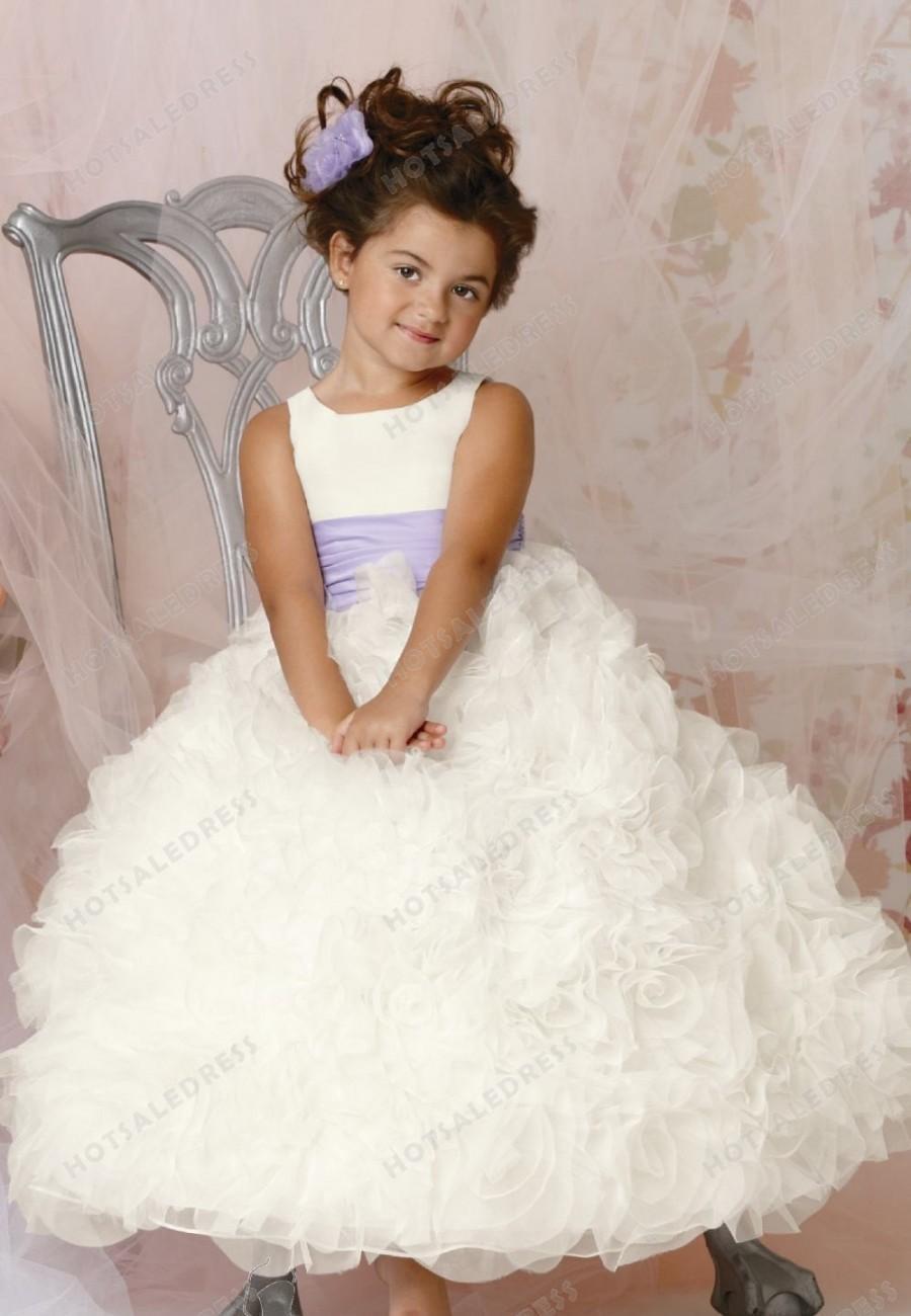 Hochzeit - Rosette Skirt Gown By Jordan Sweet Beginnings Collection L294