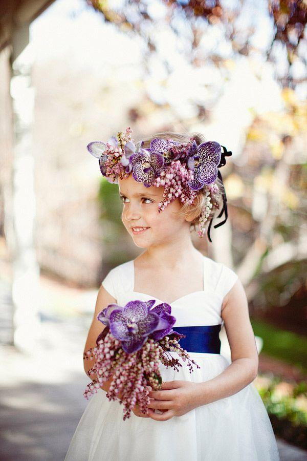 Mariage - Cute Flower Girl Flowers