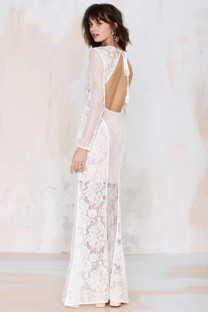 Свадьба - The Jetset Diaries The Escape Lace Dress