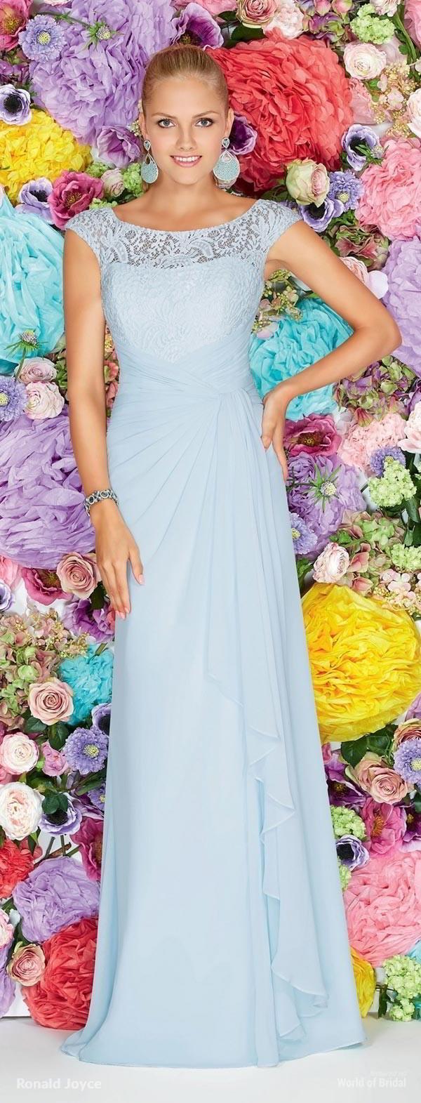 Boda - Ronald Joyce 2015 Bridesmaids Dresses