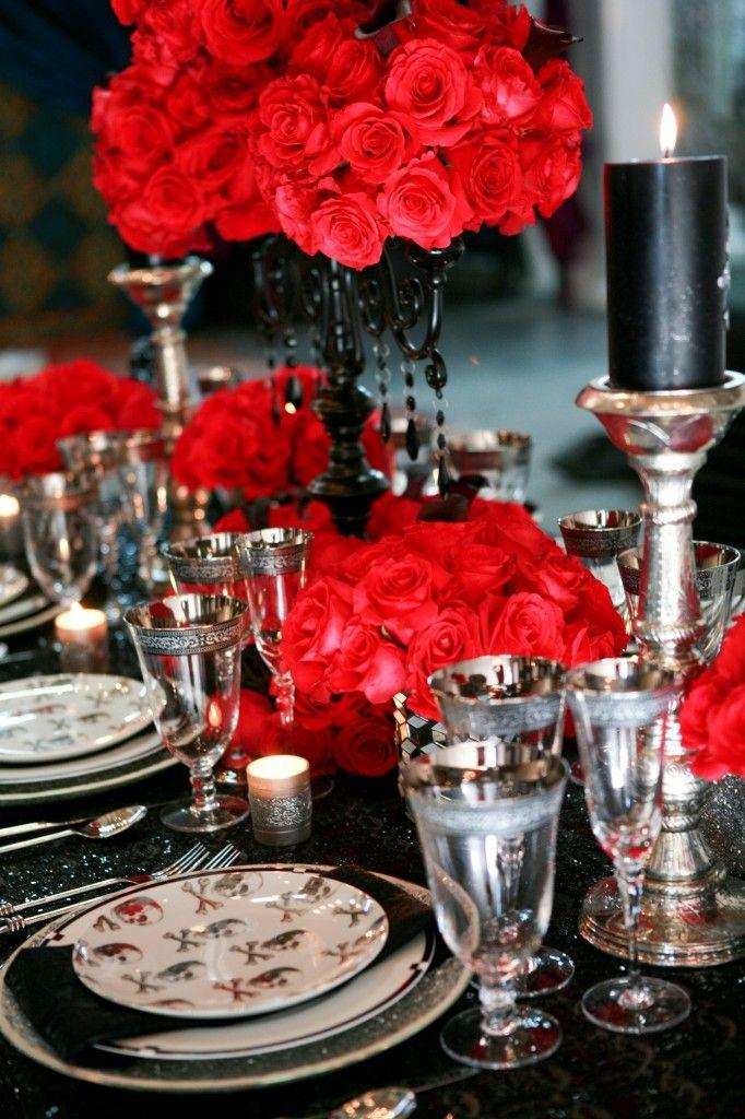 Nozze - Spooky Tablescapes For Halloween!!