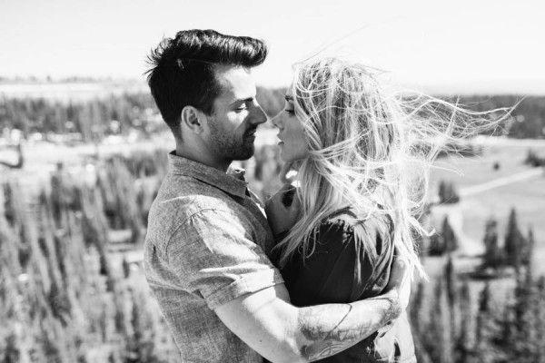 Wedding - Free-Spirited Engagement Shoot In The Uinta Mountains