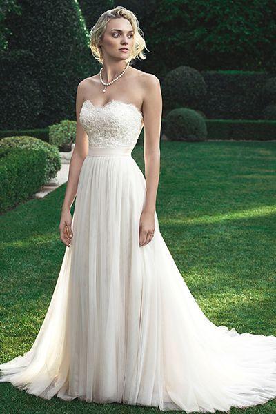 زفاف - 60 Dreamy Dresses For A Beach-Bound Bride