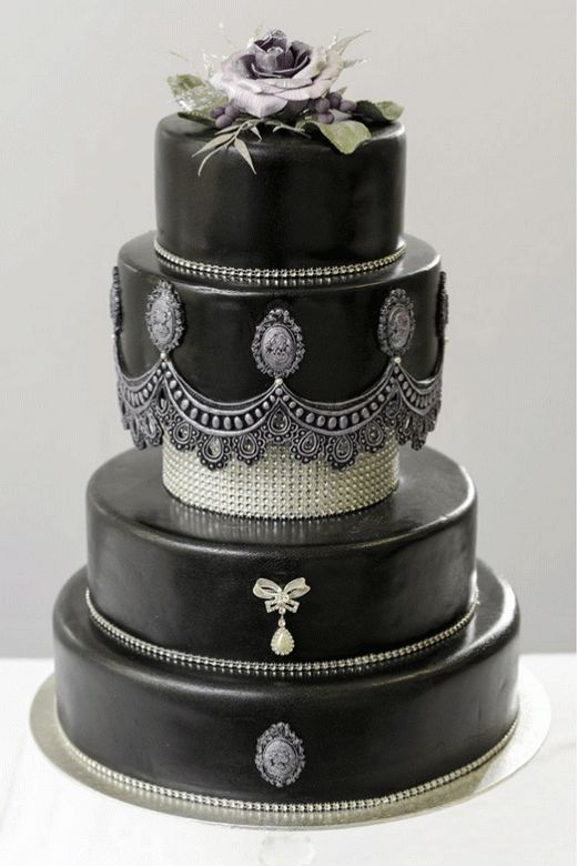زفاف - Gothic Wedding Cakes - Inked Magazine