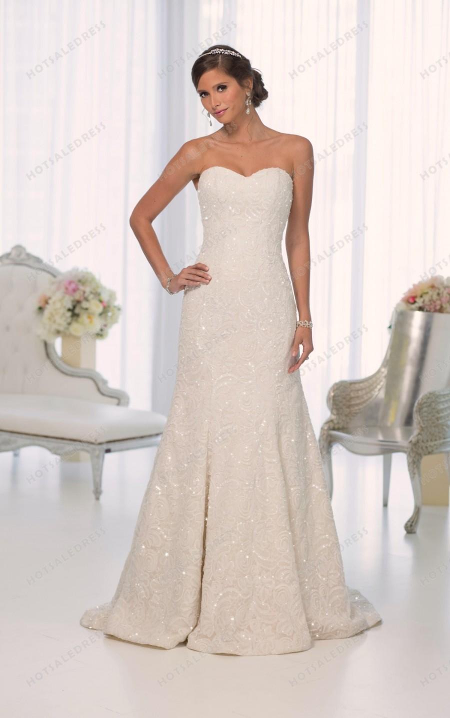 Wedding - Essense of Australia Wedding Dress Style D1637