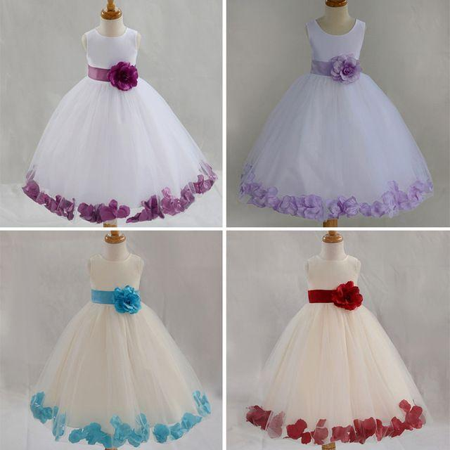 Online Shop New 2015 Summer Dresses For Girls Flower Girl Dress ...