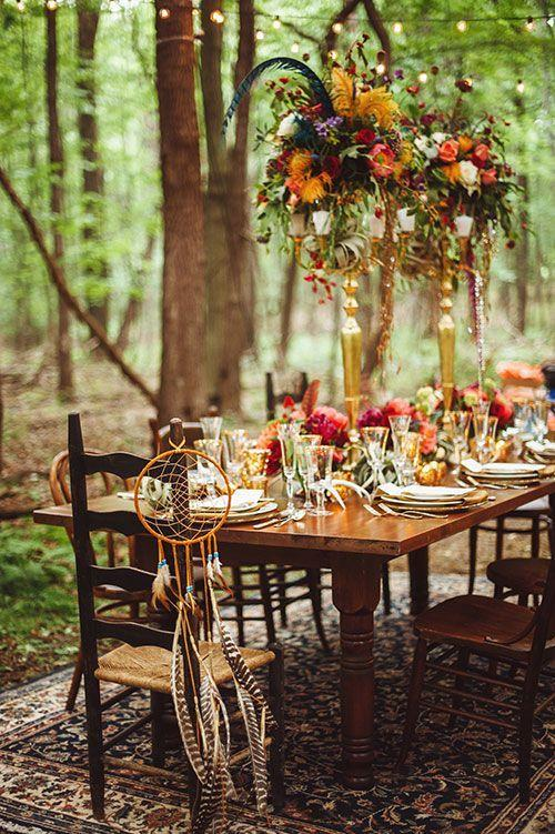 40 amazing outdoor fall wedding d cor ideas 2365461 for Table jardin beauty