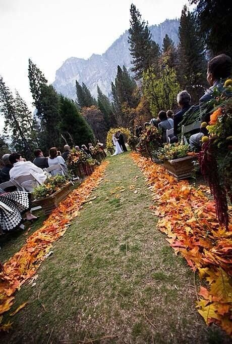 Свадьба - Community Post: 32 Pinterest Inspired Ideas To Fall Into Your Wedding