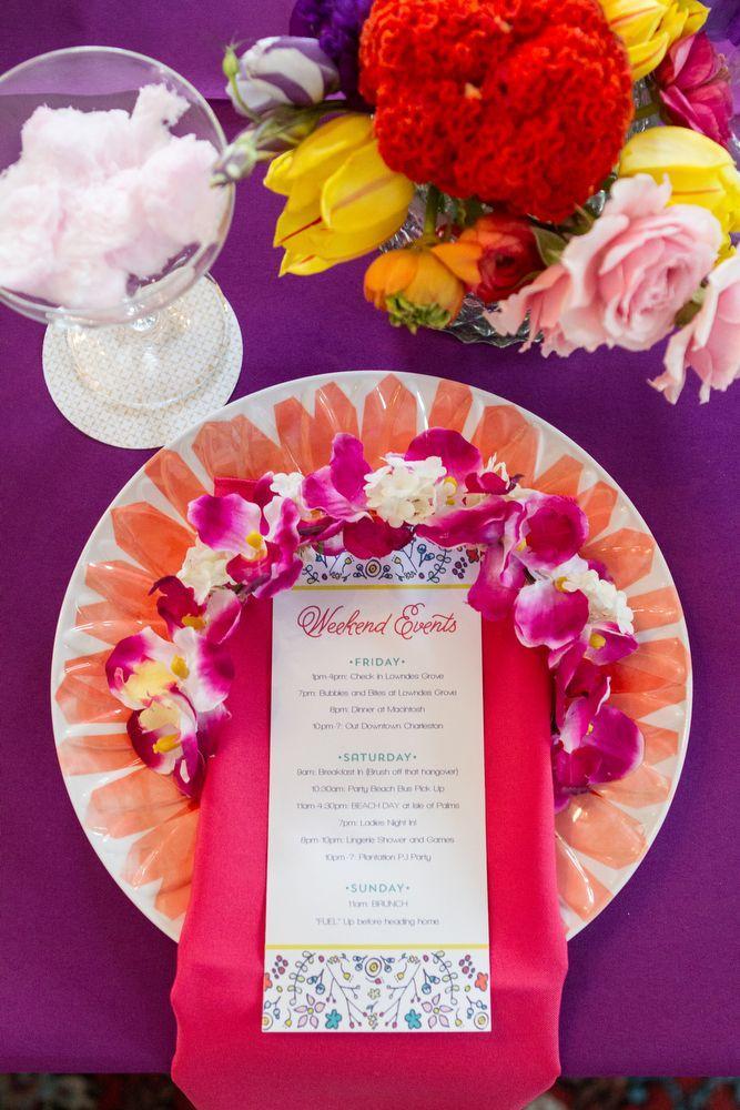 Wedding - Colorful Charleston Bachelorette Party