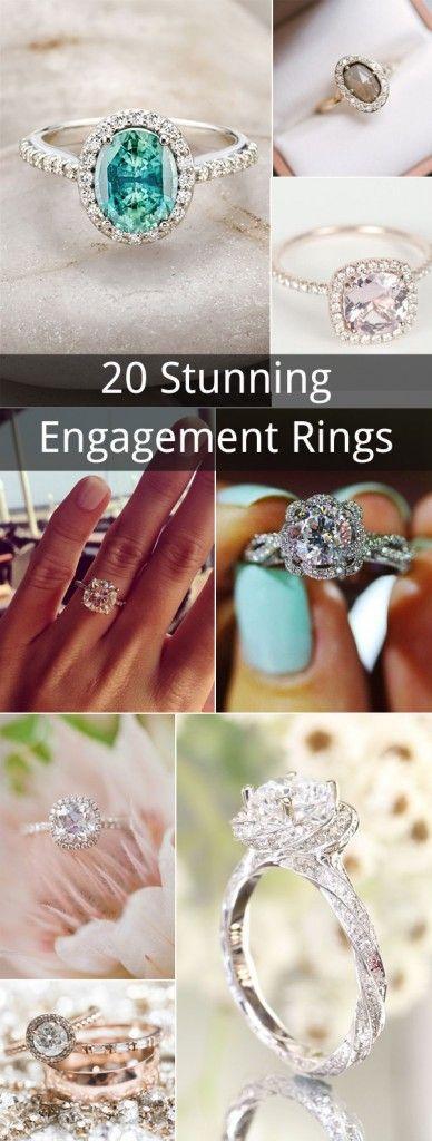 Mariage - Top 20 Stunning Wedding Engagement Rings To Love