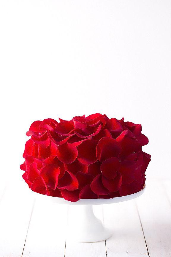 Mariage - Rose Cake