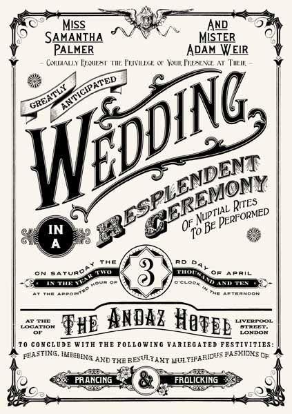 Mariage - Creative Wedding Invitations - The Wedding Specialists