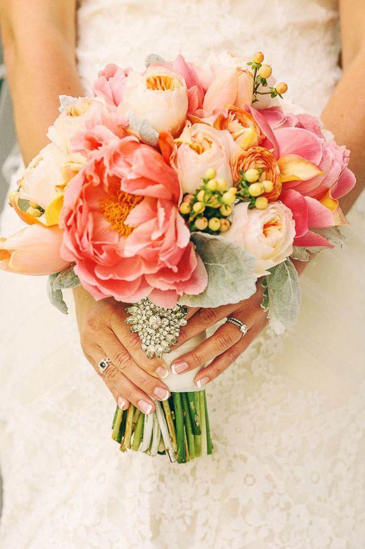 Wedding Theme Coral And Yellow Wedding Ideas 2365877 Weddbook