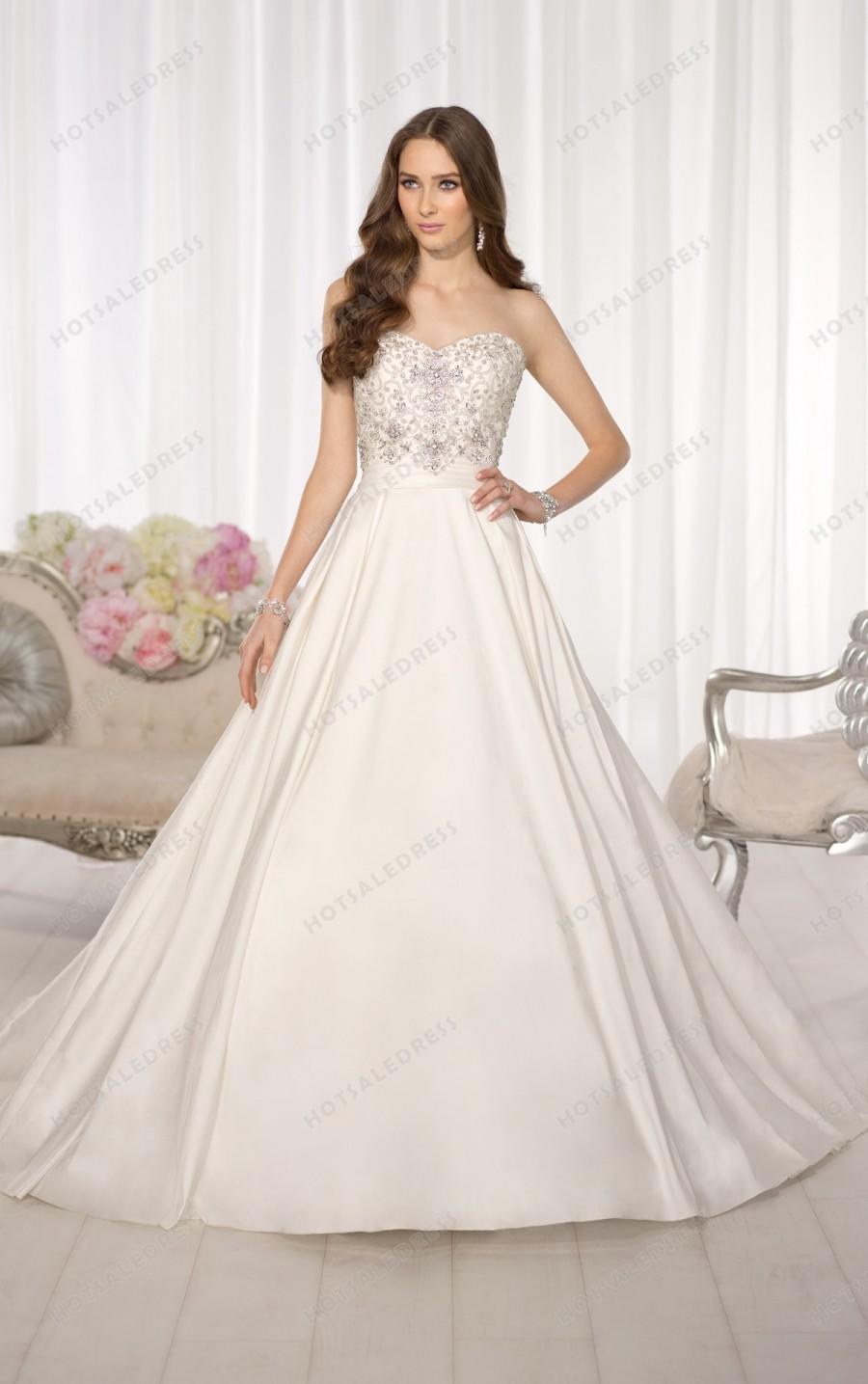 Hochzeit - Essense of Australia Wedding Dress Style D1595