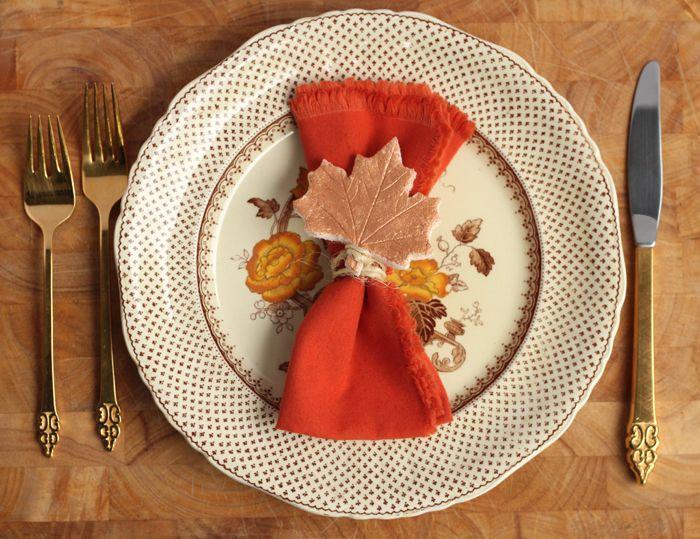 Wedding - Make A Personalized Thanksgiving Keepsake: DIY Salt Dough Place Cards -