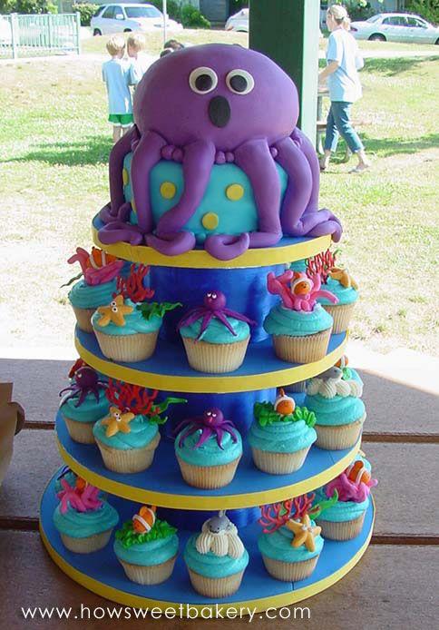 Свадьба - Party Ideas: The Best Under The Sea Birthday Cakes