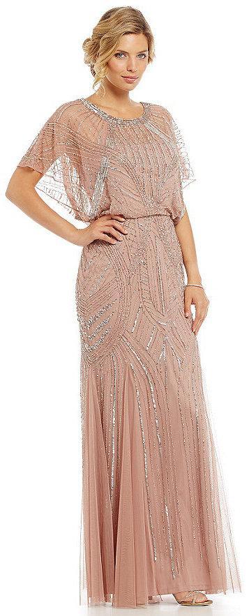 Aidan Mattox Beaded Blouson Gown #2366119 - Weddbook