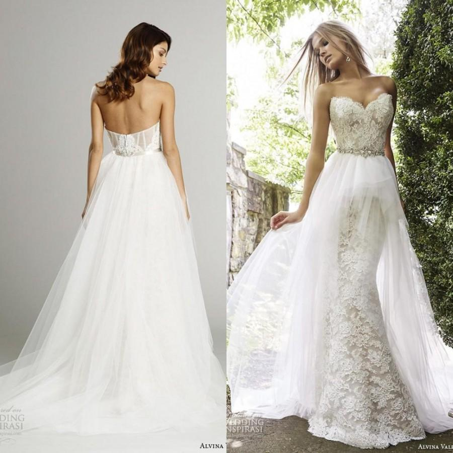 Wedding Dresses With Detachable Skirts 018 - Wedding Dresses With Detachable Skirts