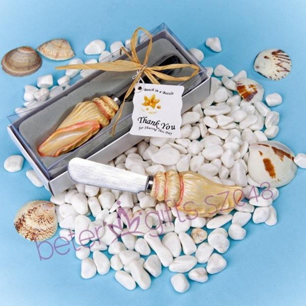 Mariage - Sea Shell Spreader Favor Christening Party Ideas BETER SZ048 Baby Shower Favor from Reliable favor album suppliers on Your Party Supplies
