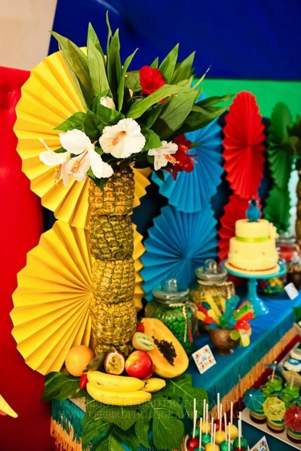 "Wedding - ""Rio"" Themed 4th Birthday Jungle, Bird Party - Kara's Party Ideas - The Place For All Things Party"