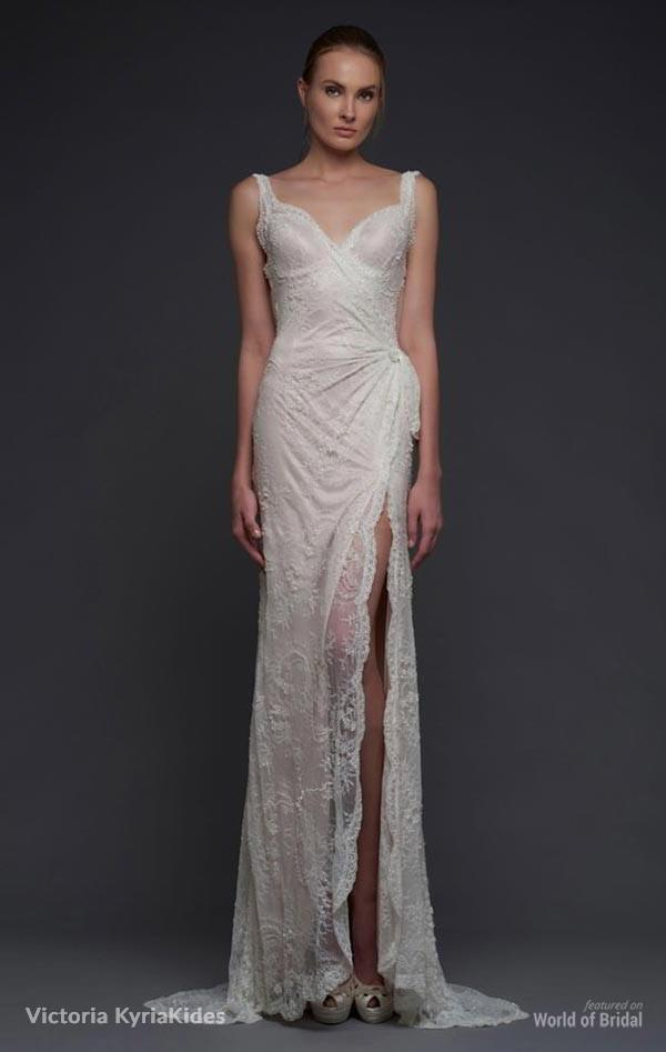 fe7a91b07d6 Victoria KyriaKides Fall 2015 Wedding Dresses  2366545 - Weddbook