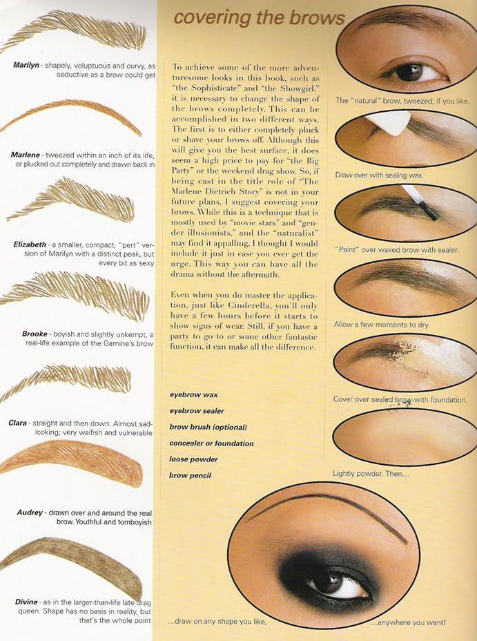 زفاف - How To Tweeze Your Eyebrows?