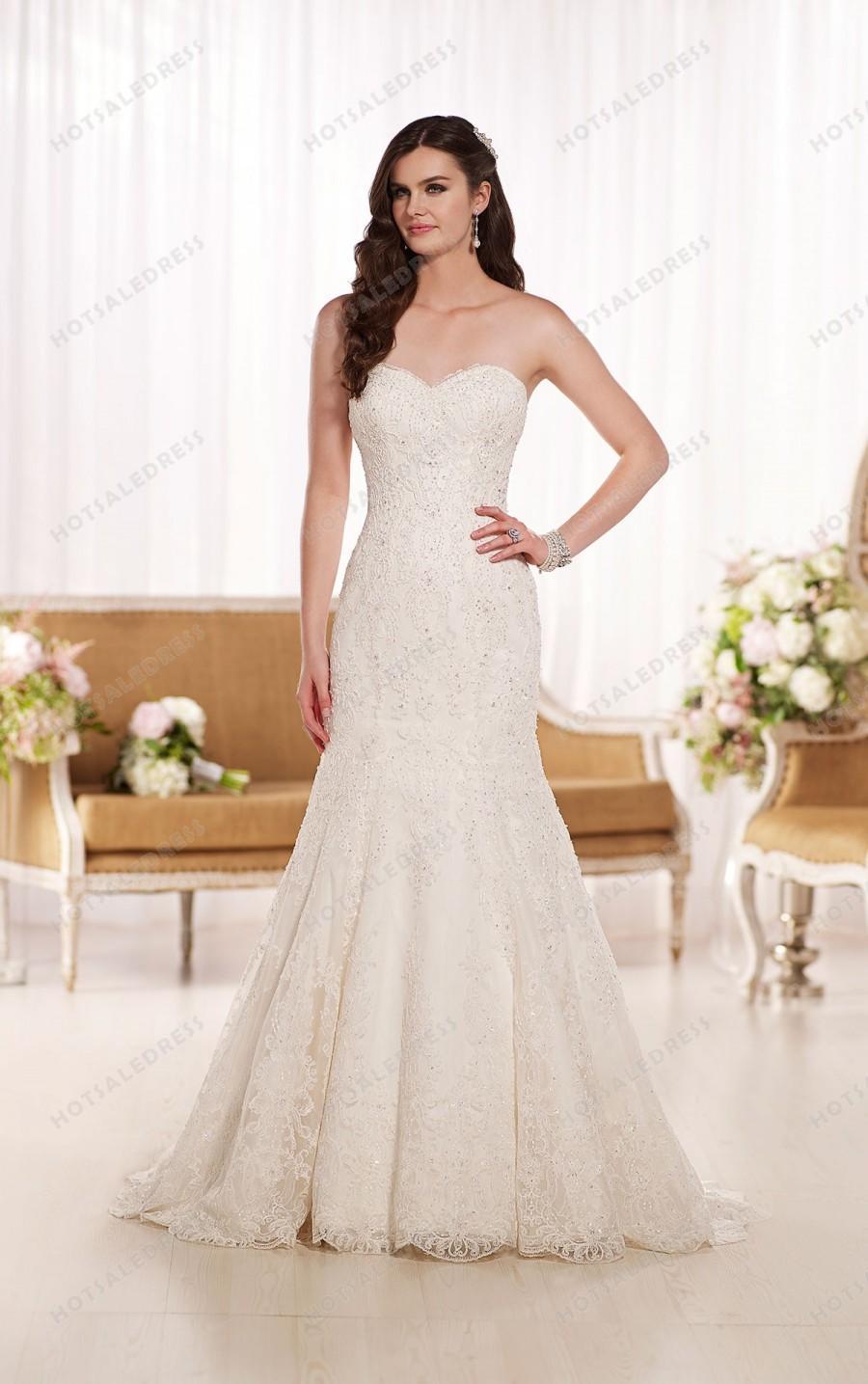 Wedding - Essense of Australia Lace Wedding Dresses Style D1768