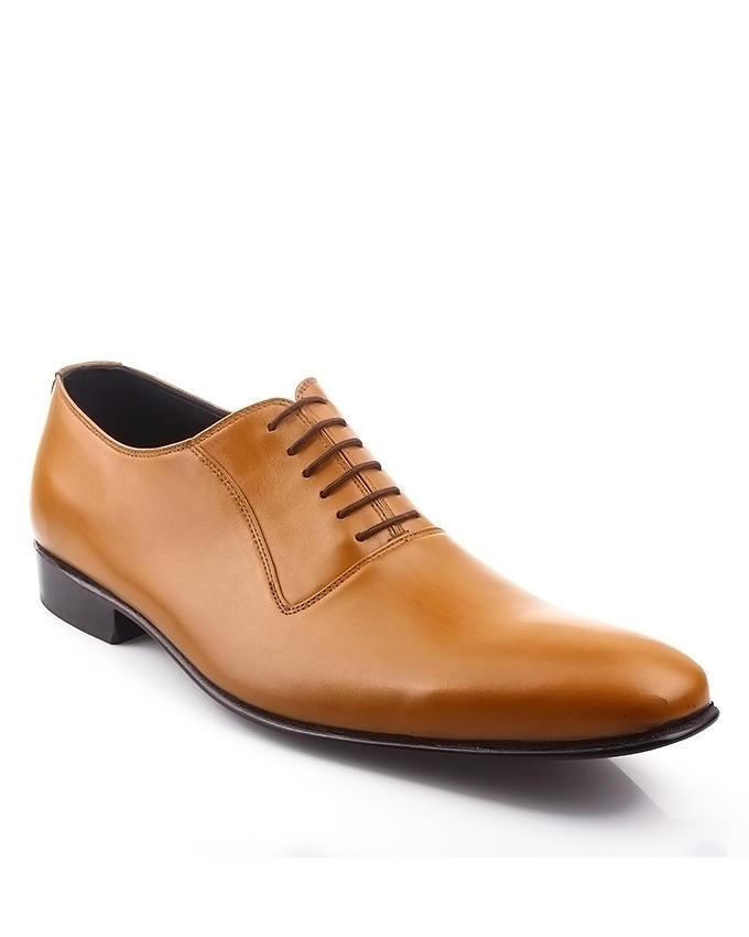 Hochzeit - MENS TAN BROWN FORMAL LEATHER SHOES