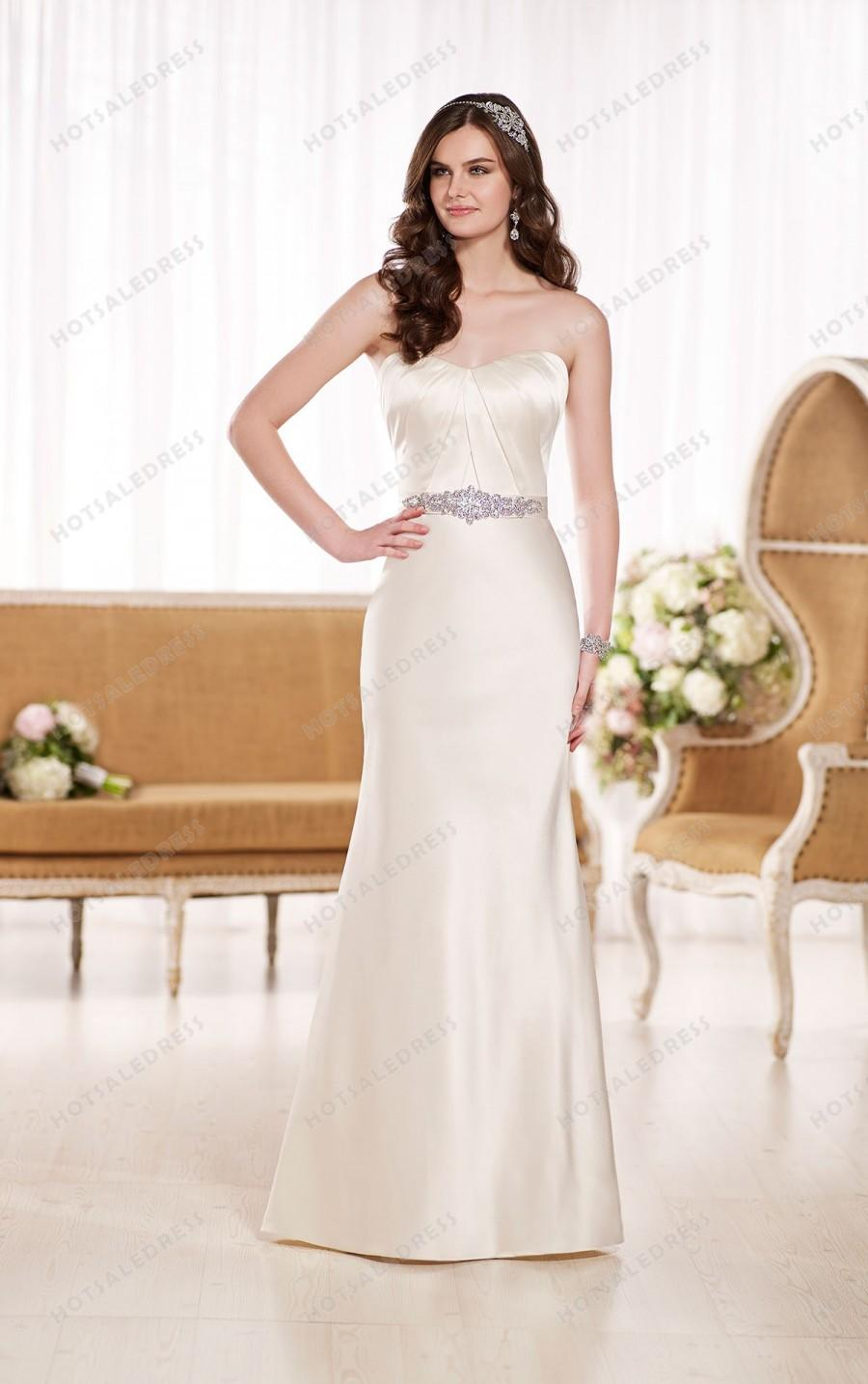 Essense Of Australia Modified A-Line Wedding Dress Style D1852 ...