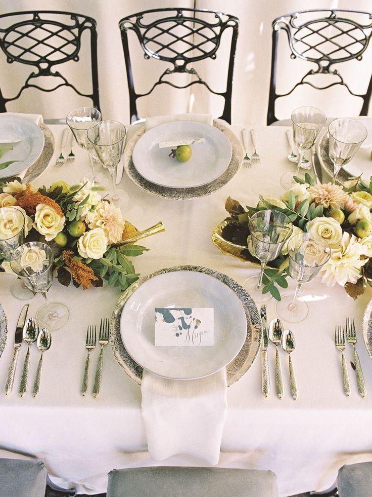 Свадьба - Elegant Autumn Wedding Inspiration