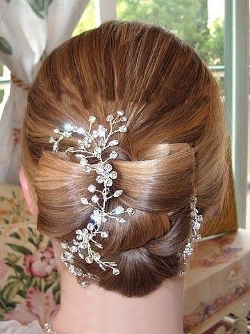 Mariage - Bridal Hair Vine With Rhinestones Wedding Headpiece Boho Hair Piece Headband: Garden Of Eden Vine