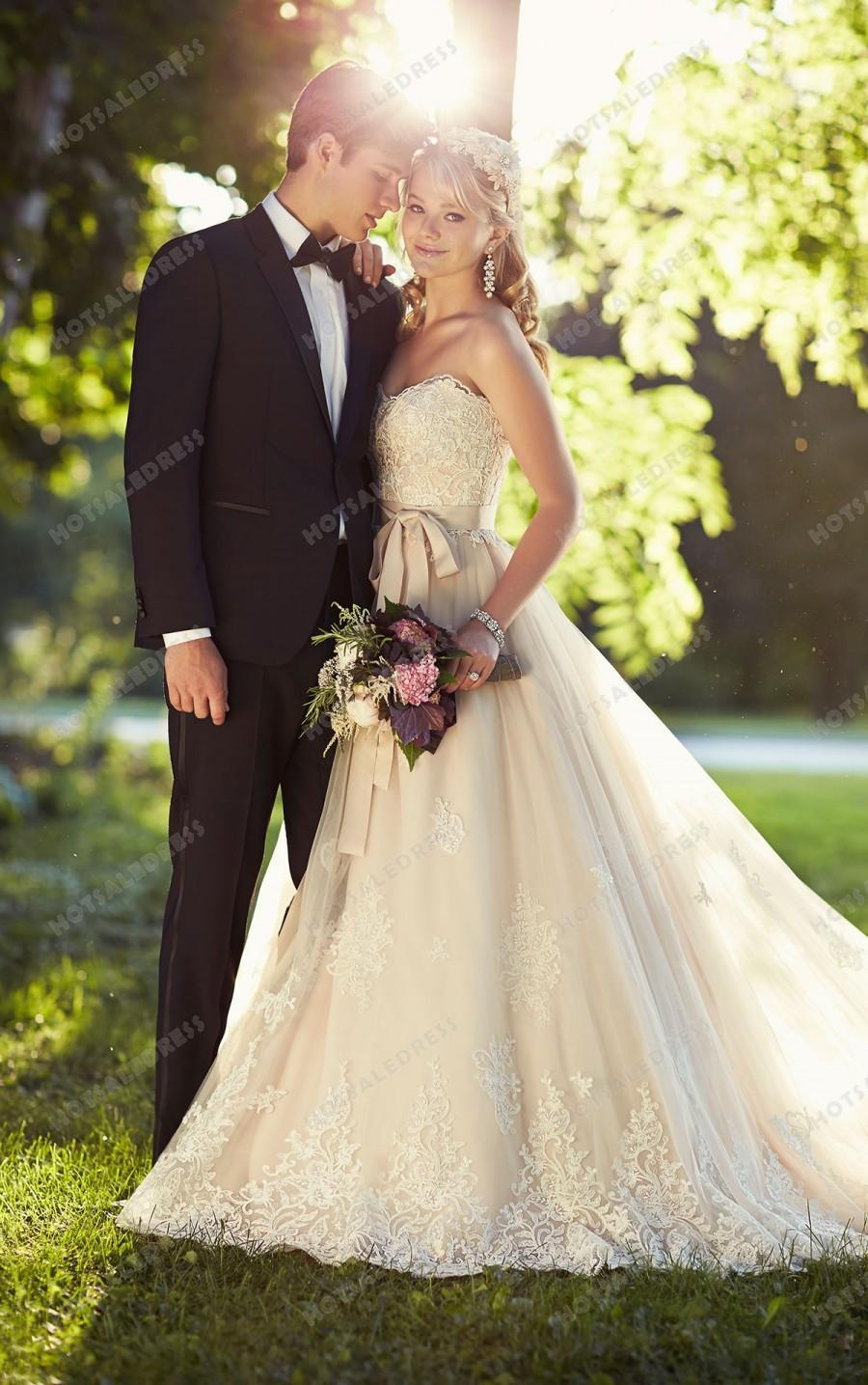 Hochzeit - Essense of Australia Wedding Dress Style D1751