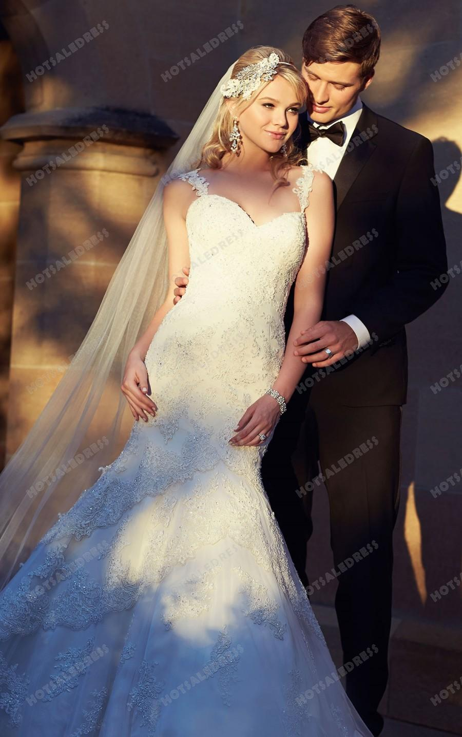 Wedding - Essense of Australia Sexy Wedding Dress Style D1842