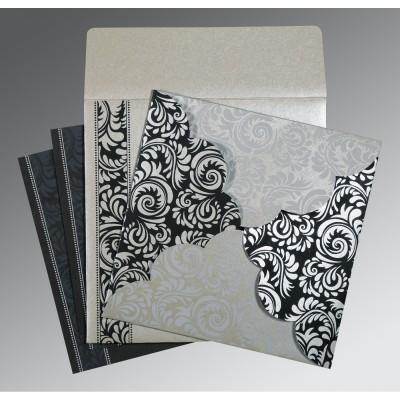 Mariage - Gray Indian Wedding Card