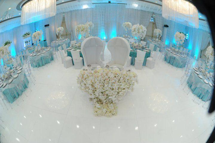 Wedding Theme Glamorous Icy Blue Reception 2367264 Weddbook