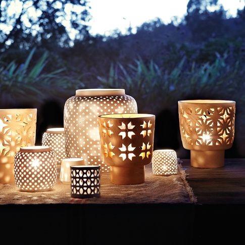 Mariage - Porcelain Candleholders