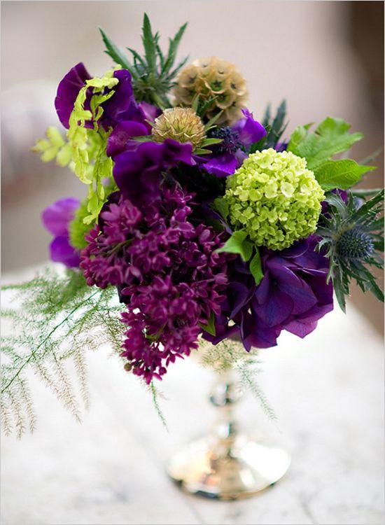 Stunning Green And Purple Wedding Ideas Images - Styles & Ideas ...