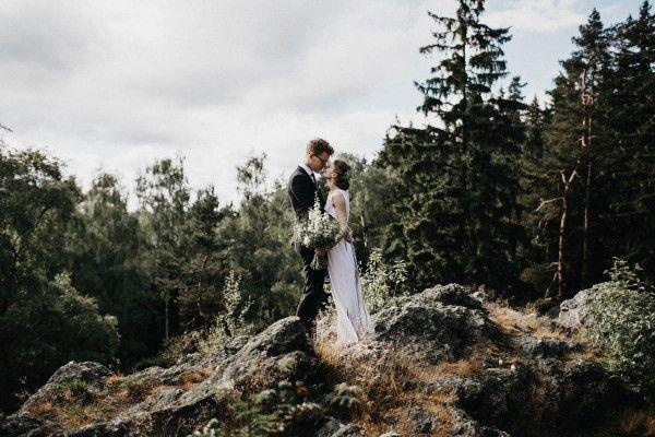 Свадьба - Minimalist Warehouse Wedding In Prague