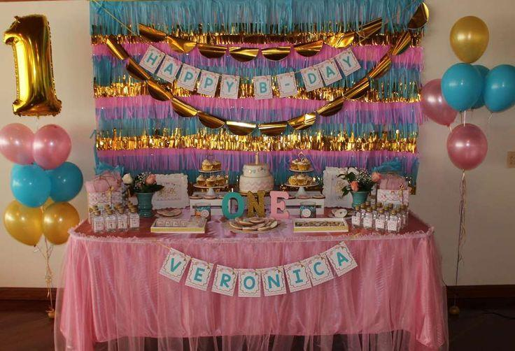 Hochzeits Thema First Year Birthday Party Ideas 2367653 Weddbook