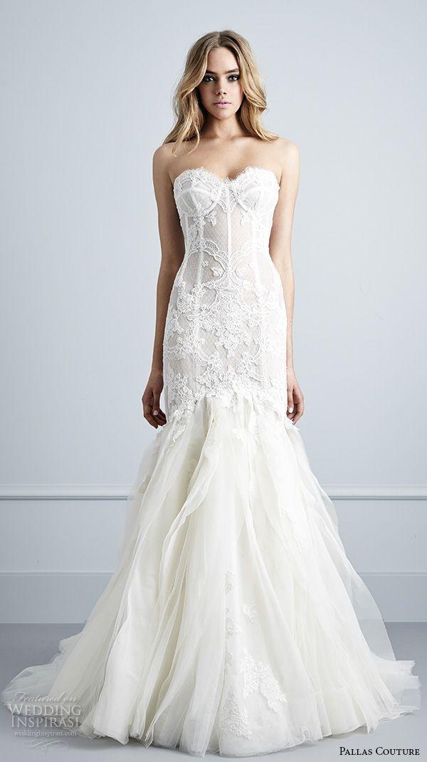 Wedding - Pallas Couture 2016 Wedding Dresses — La Haute Bijoux Bridal Collection