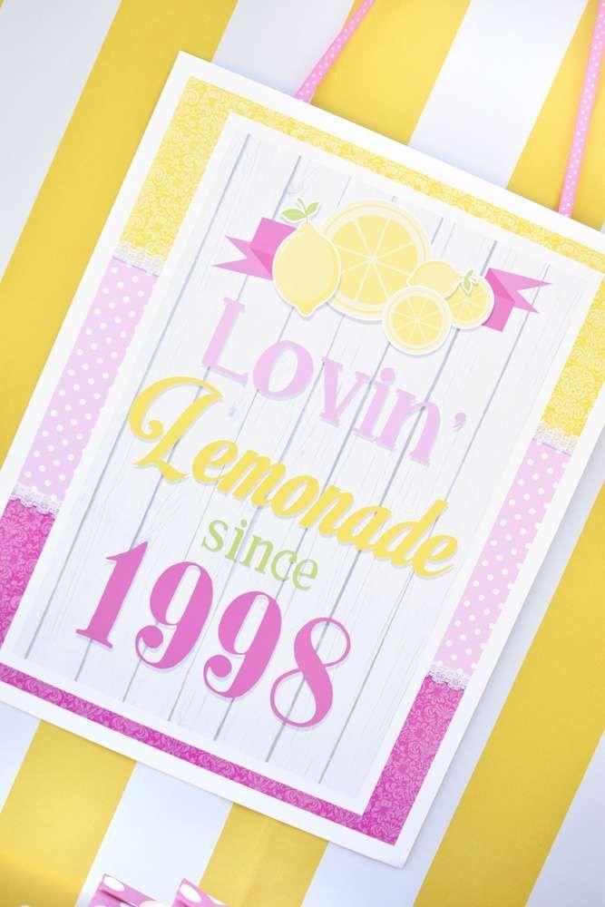 Wedding - Pink Lemonade Birthday Party Ideas