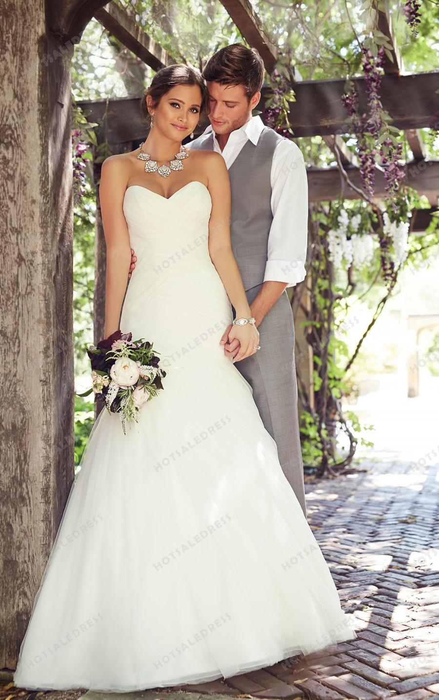 Hochzeit - Essense of Australia Sexy Wedding Dress Style D1813