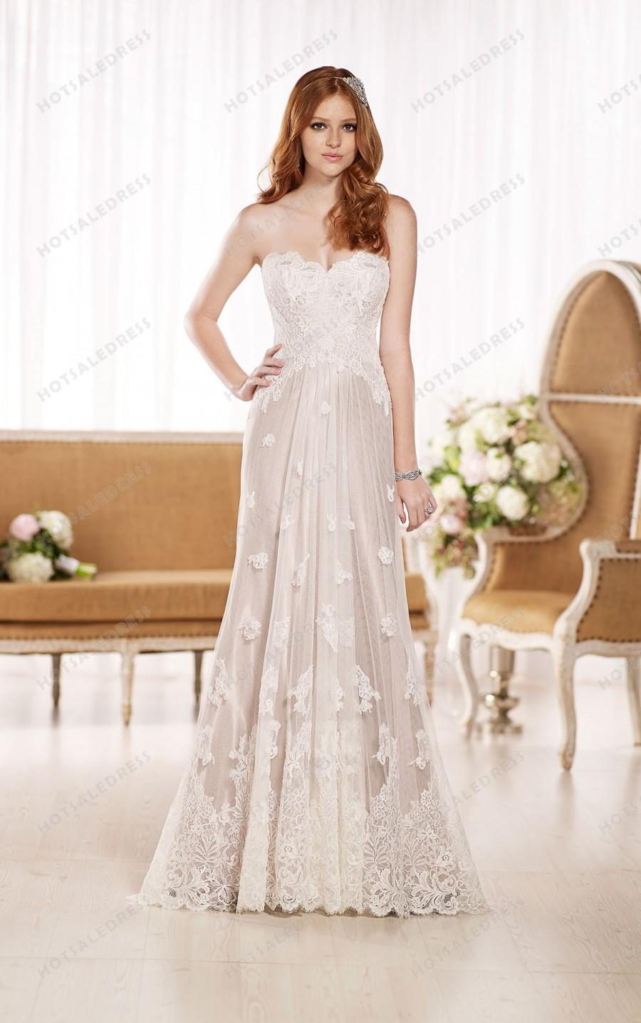 Wedding - Essense of Australia Flowy Wedding Dresses Style D1787