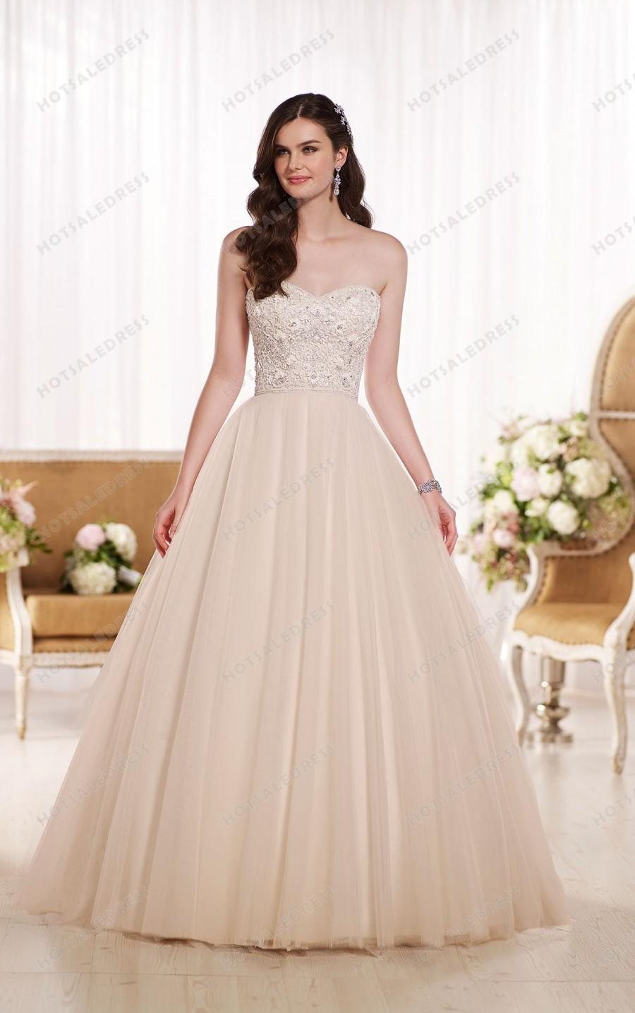 Wedding - Essense of Australia Princess Style Wedding Dresses Style D1754
