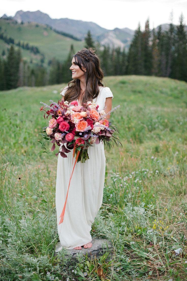 bouquet flower wildflower forest wedding 2367935 weddbook. Black Bedroom Furniture Sets. Home Design Ideas