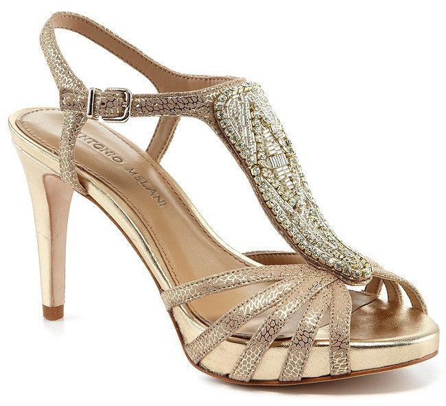 efbac9ddfc8a1 Antonio Melani Nadelle Platform Jeweled Dress Sandals  2368165 ...