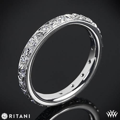 Свадьба - Ritani Romantique Diamond Wedding Ring